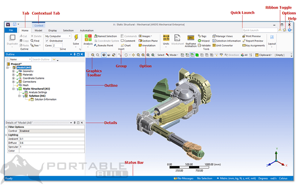 ANSYS Products 2021 R1 Free Download 64-bit [Offline Saetup Installer]