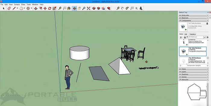 SketchUp Pro 2021 Portable Free Download