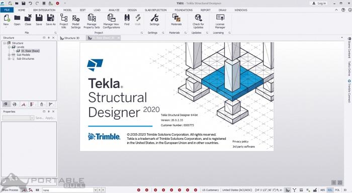 Tekla Structural Designer Suite 2020 Free Download (Offline Installer Setup) offline