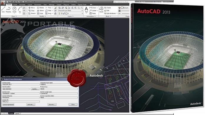 AutoCAD 2013 Free Download (32-64 Bit)