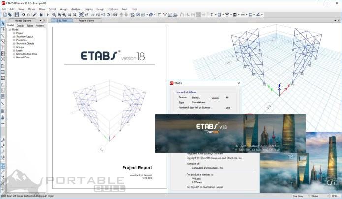 CSI ETABS Ultimate 18 Free Download (64-bit)