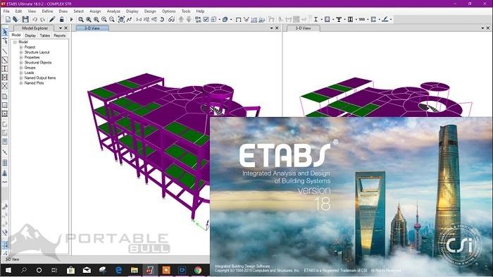 CSI ETABS Ultimate 18 Free Download
