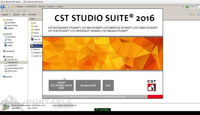 CST Studio Suite 2016