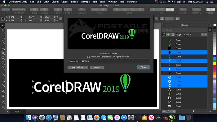 CorelDRAW 2019 Portable