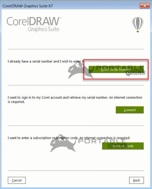 CorelDRAW X7 Installation step 12 - PortableBull com