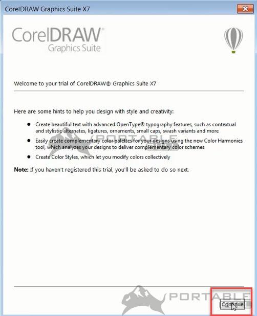 CorelDRAW X7 Installation step 9 - PortableBull com