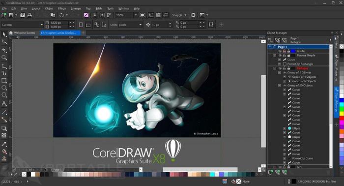 CorelDRAW X8 Free Download
