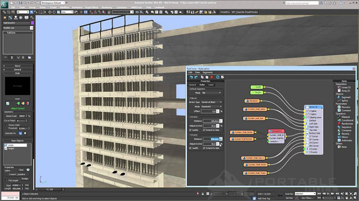 Itoo RailClone Pro 3.3 for 3ds Max