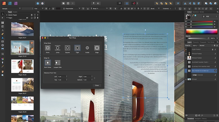 Serif Affinity Publisher free download