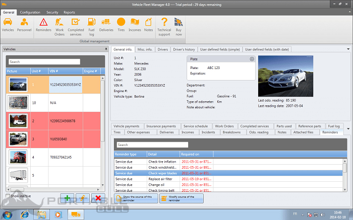 Vehicle Fleet Manager 2021 free download