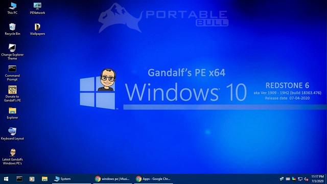 Gandalf's Windows 10PE x64