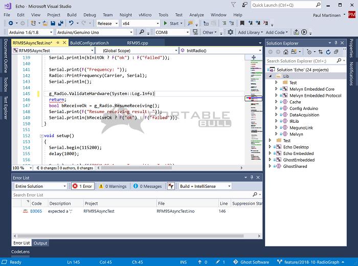 Visual Micro for Visual Studio