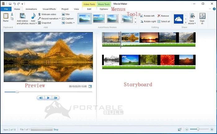 Windows Movie Maker Portable