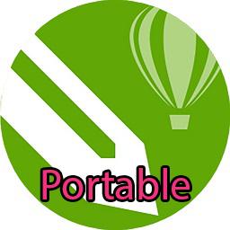 coreldraw x8 portable icon