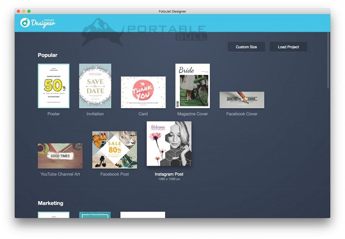 FotoJet Designer for Mac free download