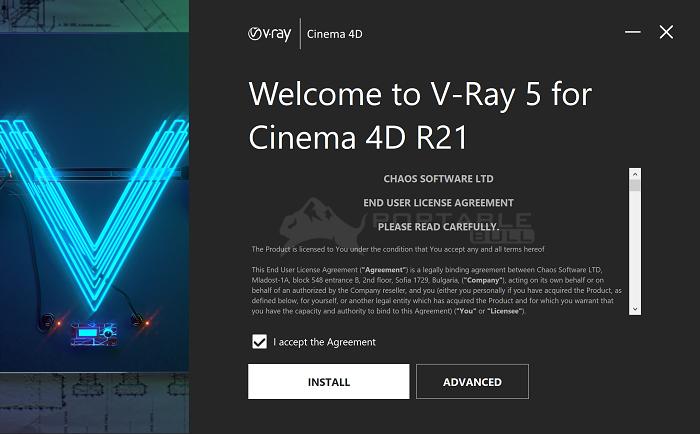 V-Ray Advanced 5 for Cinema 4D