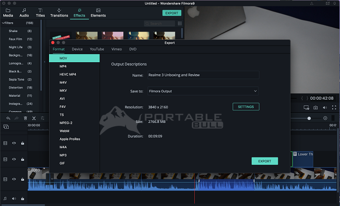 Wondershare Filmora 9 With All Complete Effects Pack
