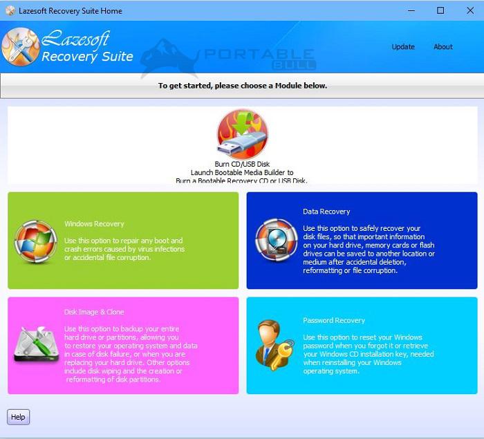 Lazesoft Windows Recovery 4.5.1.1 Unlimited WinPE