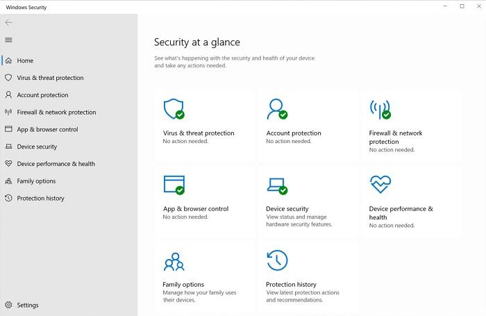 Microsoft Windows 7 Defender