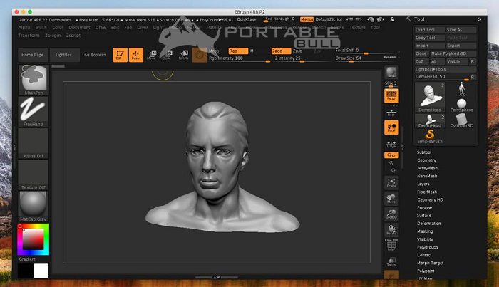Zbrush 2021 for Mac free download