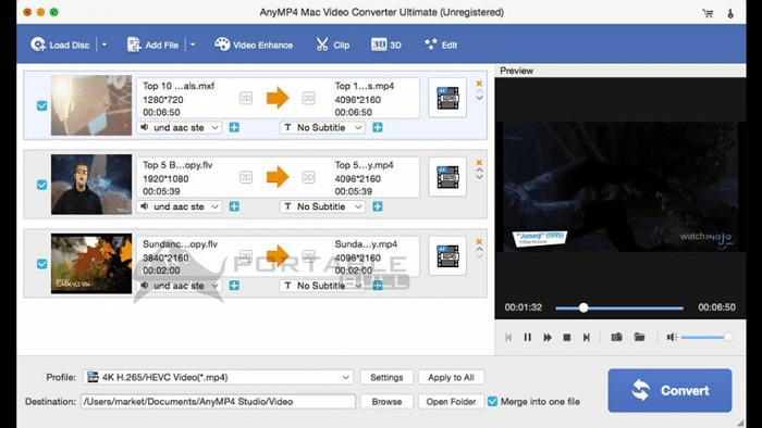AnyMP4 Mac Video Converter