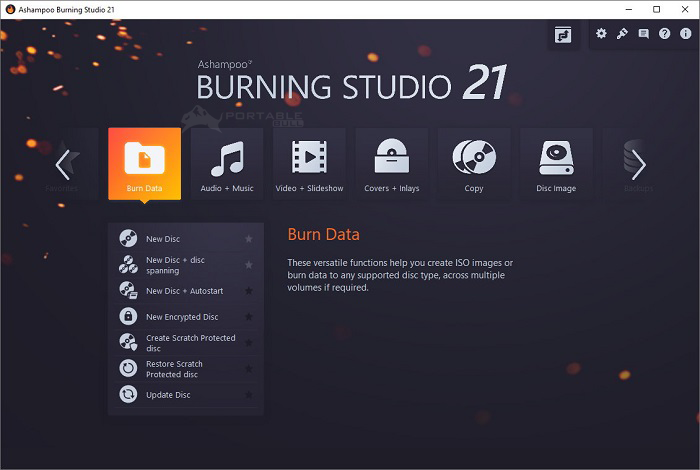 Ashampoo Burning Studio 2021