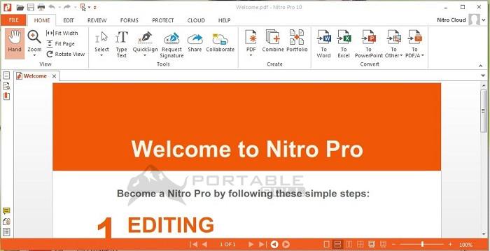 Nitro Pro Enterprise 13