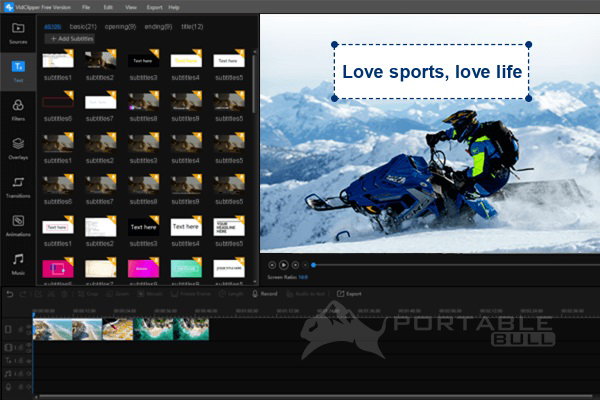VidClipper Video Editor