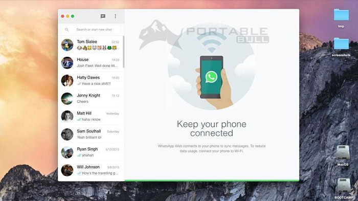 WhatsApp for Mac