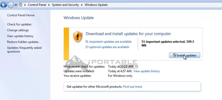 Install Update