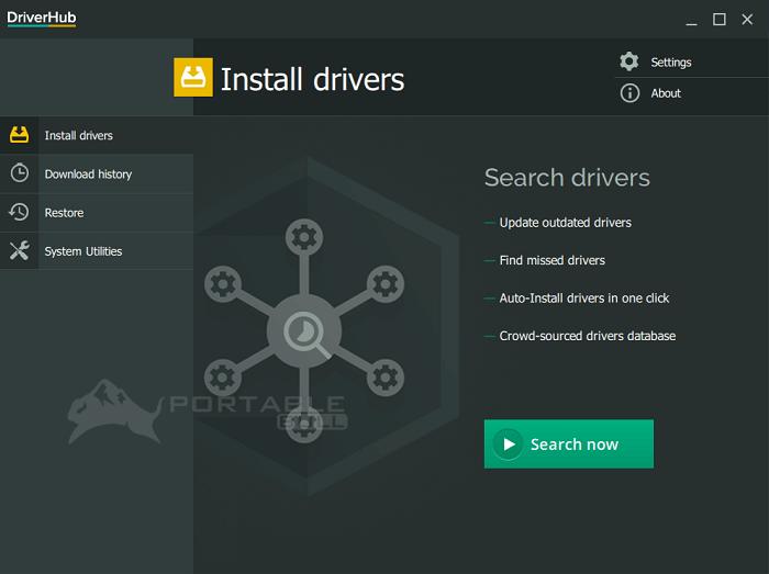 DriverHub portable