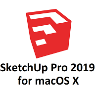 SketchUp Pro 2019 for Mac Icon