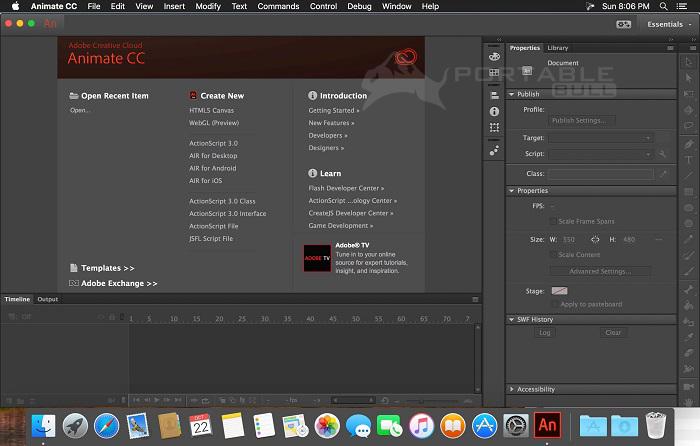 Adobe Animate CC 2018 Portable