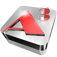Aurora 3D Animation Maker Icon