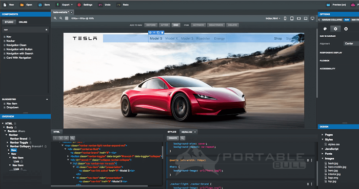 Bootstrap Studio