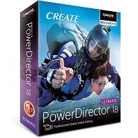 CyberLink PowerDirector Ultimate 18 Cover