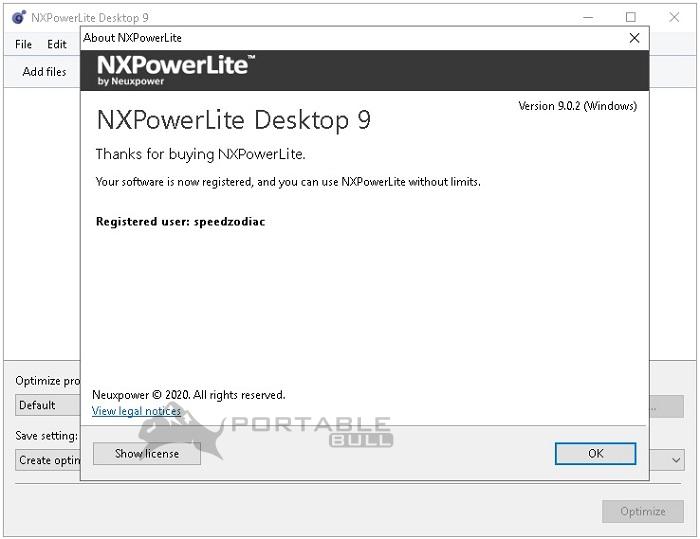 NXPowerLite Desktop Edition 9