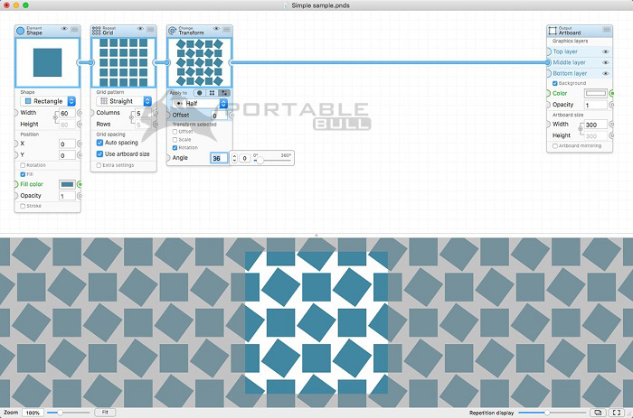 Patternodes for Mac
