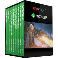 RED GIANT VFX SUITE Cover
