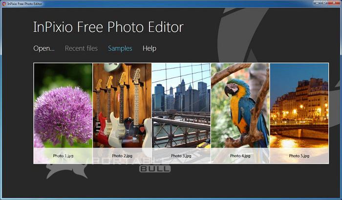 inPixio Photo Editor for mac