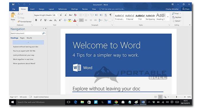 Office 2016 Portable