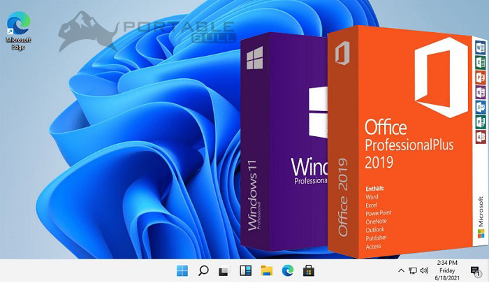 Windows 11 With Office 2019