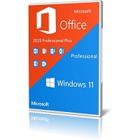 indows 11 Pro With Office 2019 Pro Plus Cover