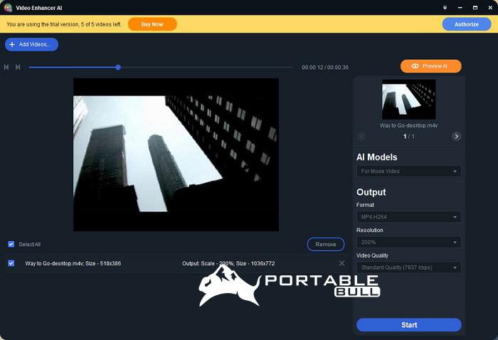 AVCLabs Video Enhancer AI